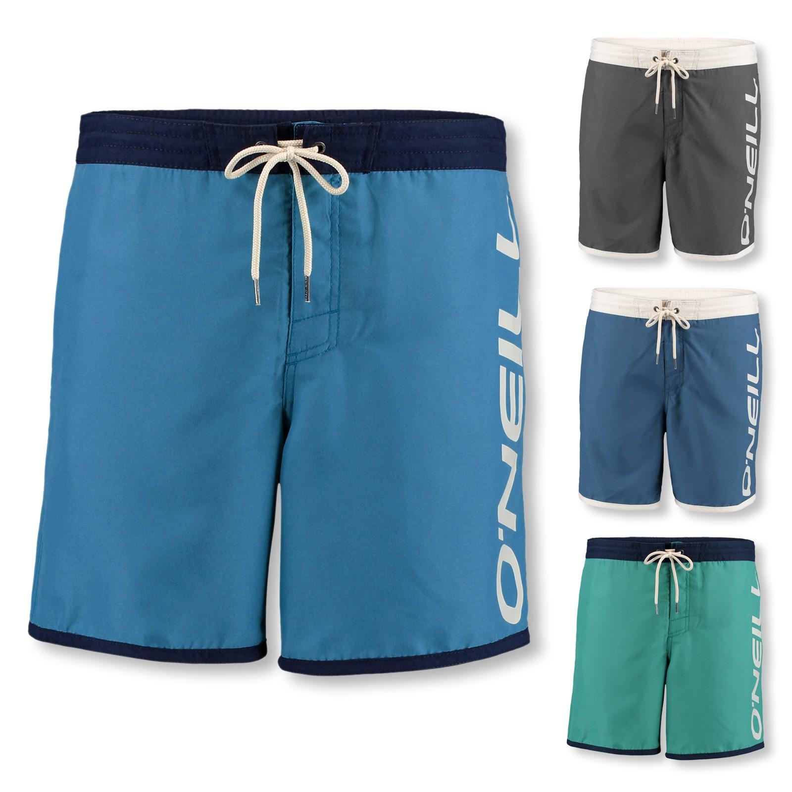 O'Neill Badeshorts Naval Shorts 7A3229 M L XL 2XL in green-blue slate