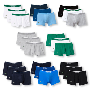LACOSTE 3er Pack Shorts Boxer Trunks Colours - Farbwahl