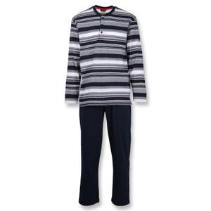 Ceceba Herren Pyjama Set Schlafanzug langarm M L XL 2XL 3XL 4XL 5XL 6XL 7XL 001