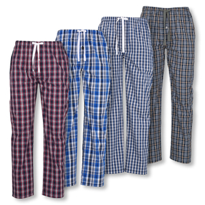 Detailbild Tom Tailor Herren Pyjamahose lang Homewear Schlafanzug Hose 70924 in blue / red / white check