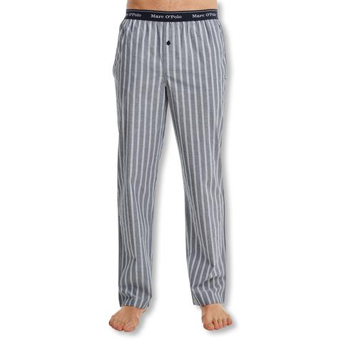 Marc O'Polo Herren Webhose Pyjamahose 160434 M L XL XXL in nightblue stripes