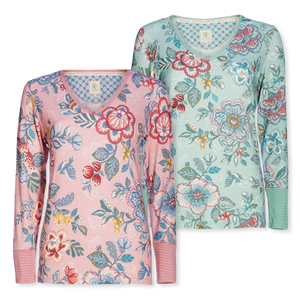 PIP STUDIO Long Sleeve Trix Berry Bird - Farbwahl