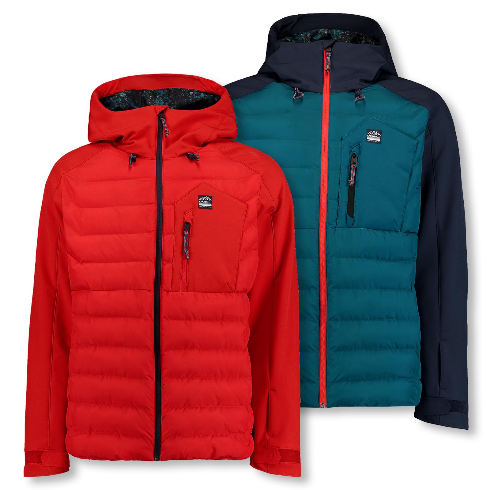 O'NEILL Herren Snowboardjacke Skijacke Kapuze 37-N Jacket M L XL XXL 7P0020 in ink blue