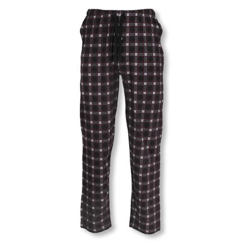 Tom Tailor Herren Pyjamahose lang Homewear Schlafanzug Hose 70948 in red / grey checked