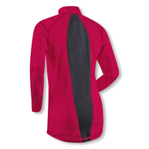 Detailbild Björn Daehlie Damen Funktionsshirt Shirt Half Zip Training Wool 332132 S M L in bright rose