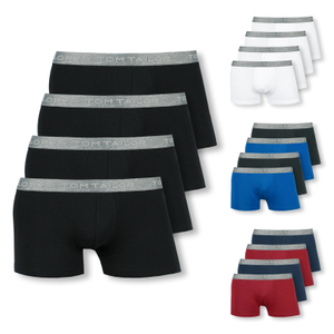 TOM TAILOR 4er Pack Shorts Boxer Briefs - Farbwahl