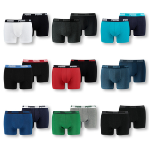 PUMA 10er Pack Boxershorts - Farbwahl