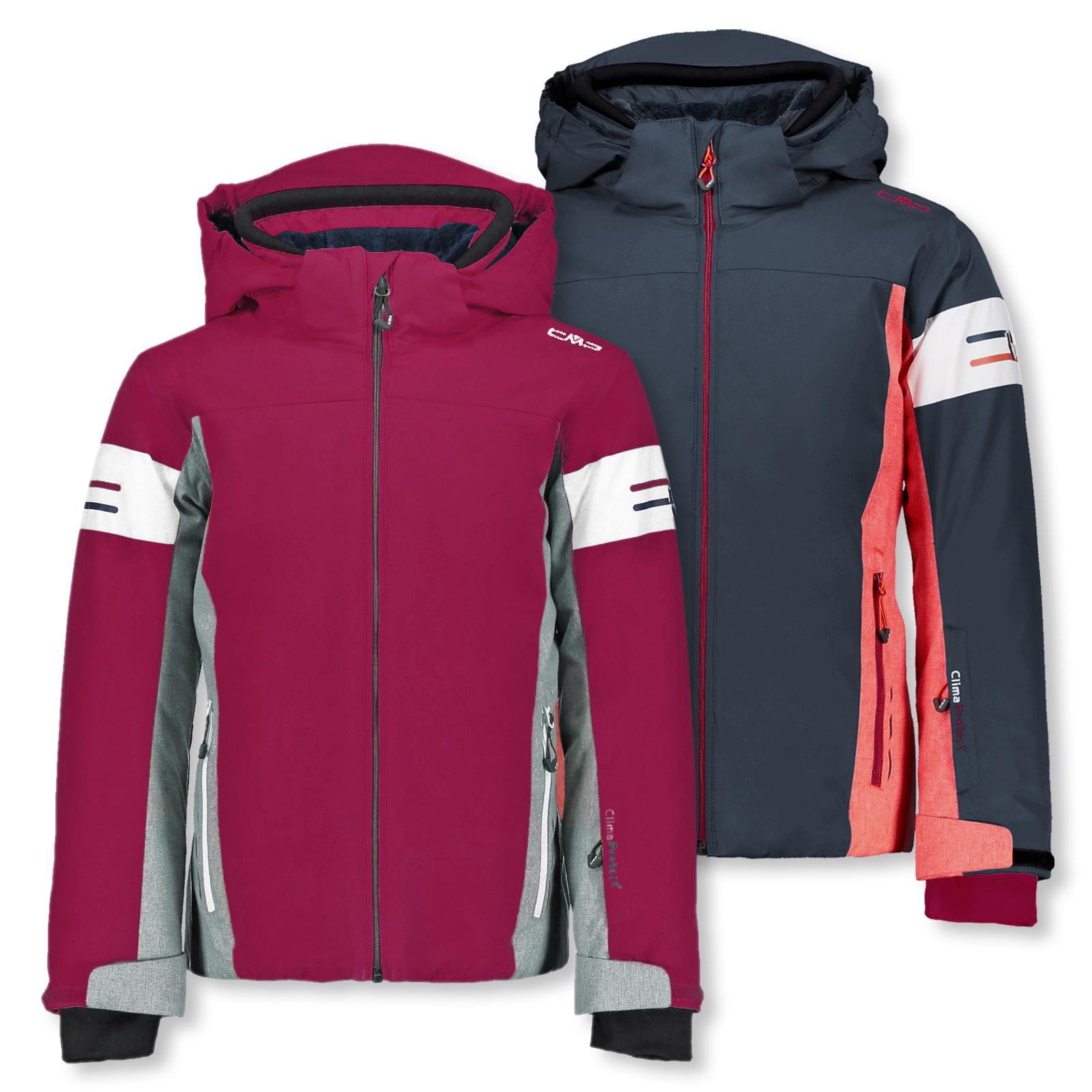 Skijacke Winterjacke Girl Snaps Hood Jacket Farbwahl Bonvenon