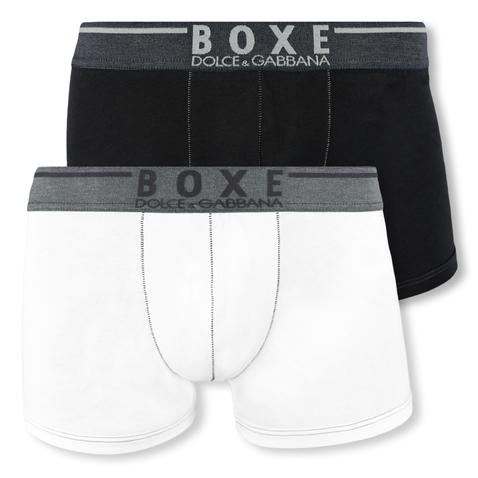 Dolce & Gabbana Boxershorts Regular Boxer M L XL OMI14 in optical white