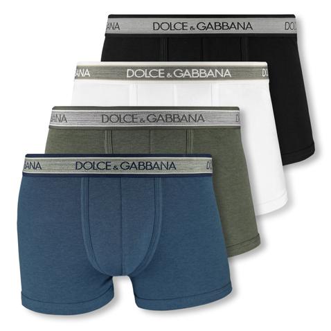 Dolce & Gabbana Boxershorts Shorts Regular Boxer M L XL XXL ONC36 in green melange