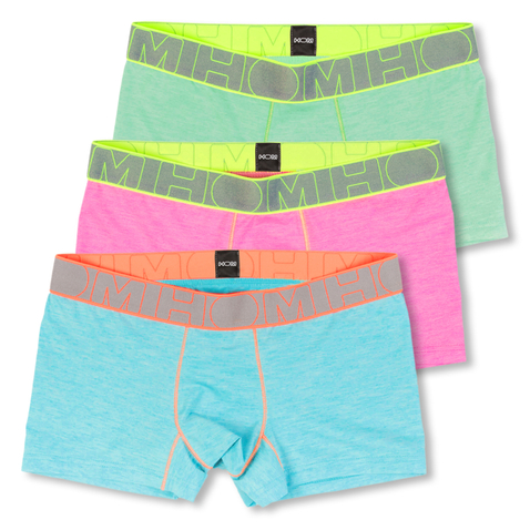 HOM Sport Boxershorts Trunk Waves 400453 M L XL in turquoise