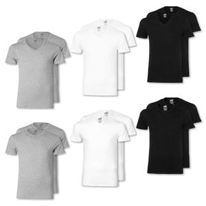 PUMA 2er 4er 6er Pack T-Shirts Shirts - Farbwahl