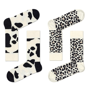 HAPPY SOCKS Socken Strümpfe Animal Print - Farbwahl
