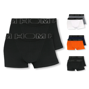 HOM 2er Pack Shorts Boxer Briefs HO1 Boxerlines - Farbwahl