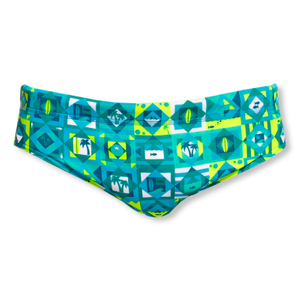 FUNKY TRUNKS Badehose Classic Briefs Lime Light