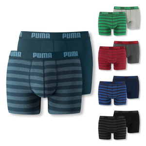 PUMA 2er, 4er Pack Shorts Boxershorts Stripe 1515 Boxer - Farbwahl