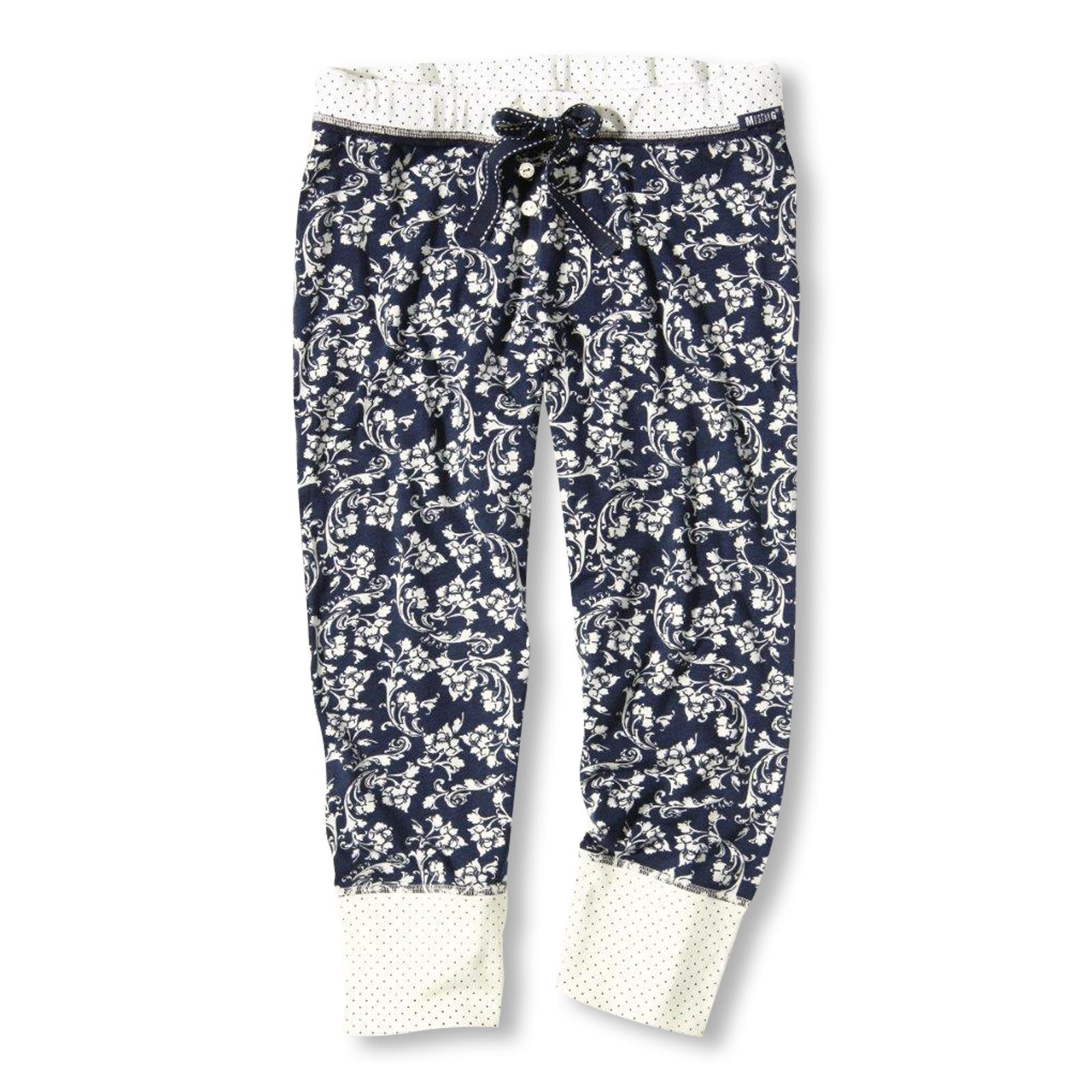 MUSTANG Damen Pyjamahose kurz Schlafanzughose Shorts Shorty Sharon S M L XL