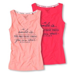 MUSTANG BODYWEAR Shirt Tank Top Luisa - Farbwahl