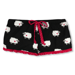 P.J. SALVAGE Pyjamahose kurz Shorts Sheep