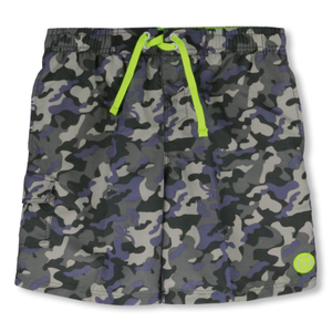 CMP Badeshorts Medium Shorts Camouflage