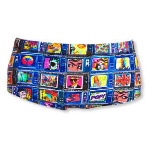 FUNKY TRUNKS Badehose Classic Trunks Square Eyes Jungen