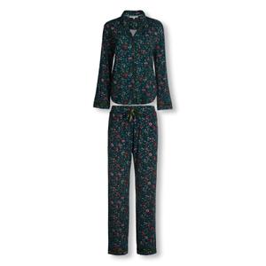 Detailbild Pip Studio Pyjama Pia Oh My mit Knopfleiste S M L XL in blau