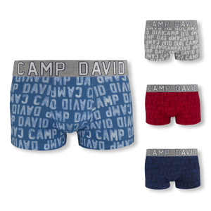 CAMP DAVID Shorts Boxershorts - Farbwahl