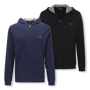 HUGO BOSS Sweatjacke Jacket Hooded Homewear - Farbwahl