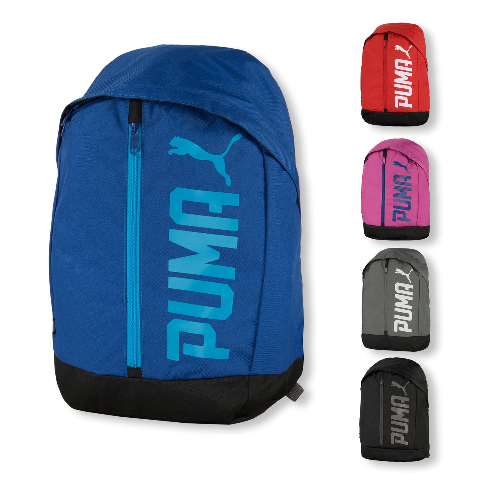 e7740c40f1f69 ... PUMA Pioneer Backpack II Rucksack für Sport Freizeit Reise Schule  Outdoor 074417 in high risk red