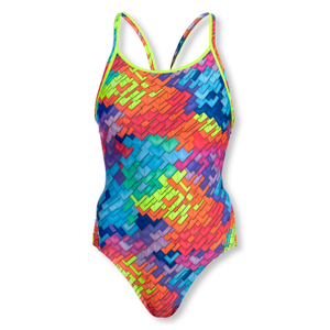 FUNKITA Badeanzug Diamond Back Layer Cake