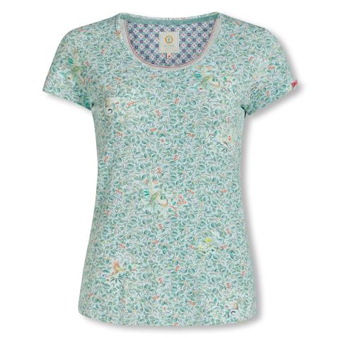 PiP Studio Long Sleeve T-Shirt langarm Oberteil Teddie Berry Delight Large Top