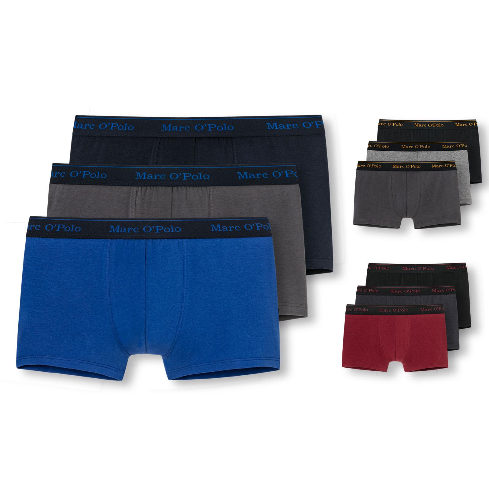 3er Pack Marc O/'Polo Herren Boxershorts Boxer Unterhosen Trunks Shorts Farbwahl