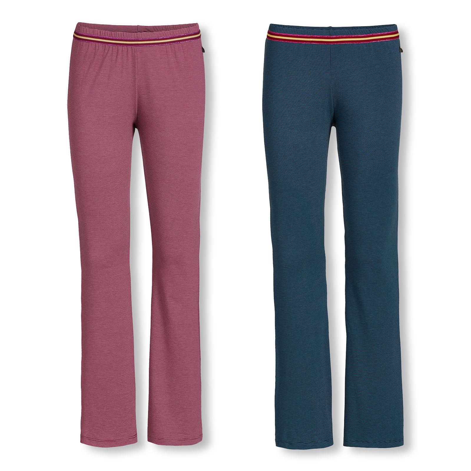 PiP Studio Damen Pyjamahose Hose lang Buiter Forest Foliage Large Trousers Long