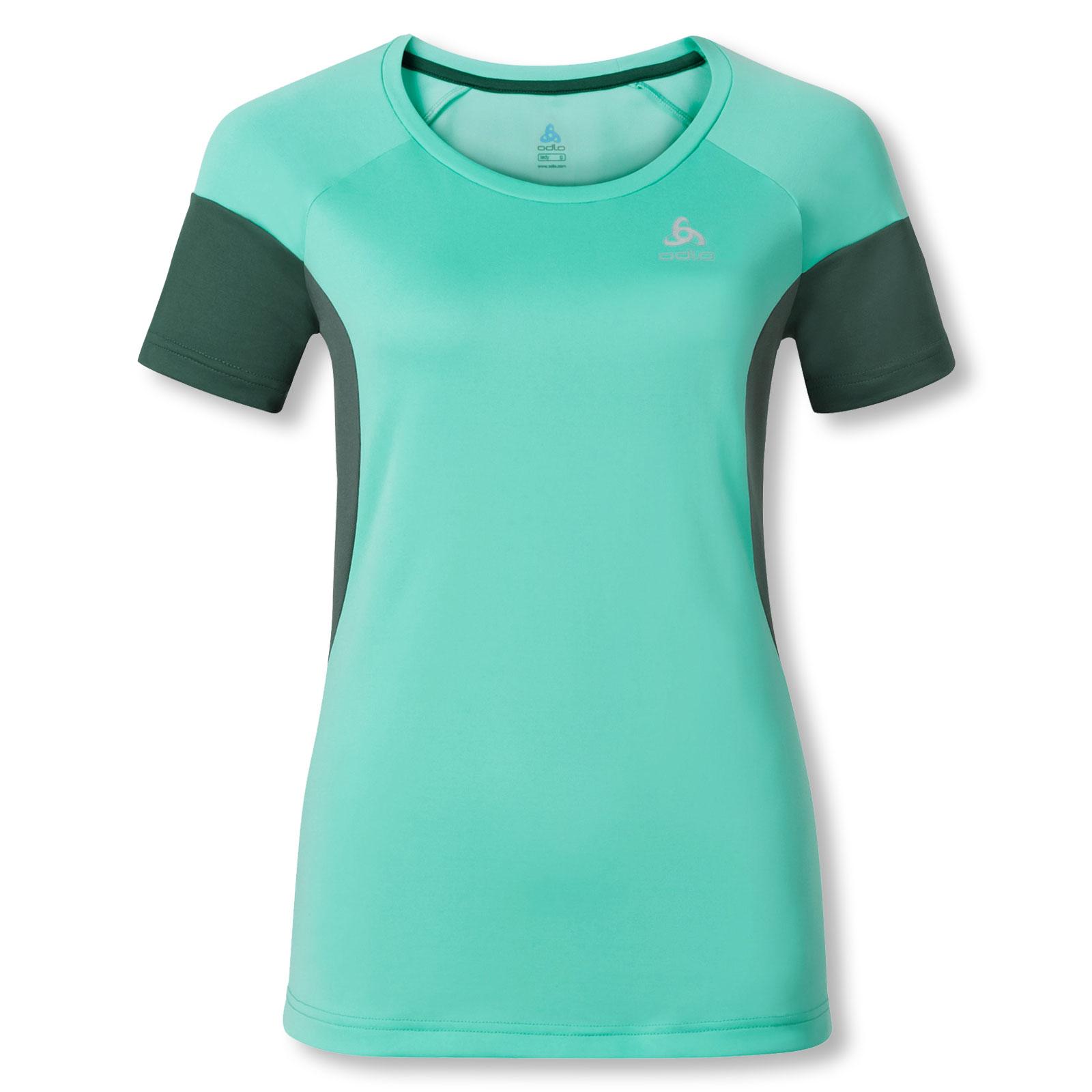 Odlo Damen T-Shirt Funktionsshirt Sportshirt Laufshirt Shaila
