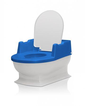 Kindertoilette Potty Toilettentrainer Töpfchen NEU BLAU/Weiss