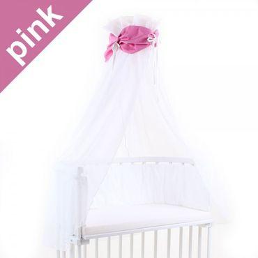 Babybay Himmel - Set inkl. Himmelstange für Original und Maxi  Mini Midi Trend boxspring div. Designs – Bild 4