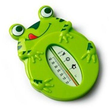 REER Badethermometer FROSCH Thermometer für Babys Bad – Bild 1
