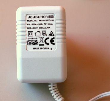 Reer Netzteil für Babyphon u.a. 9V 300mA Hohlstecker 4mm – Bild 2