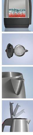 Reer BABY-Edelstahl-Wasserkocher Wasser-Kocher 1000W Pia ALTES MODELL – Bild 3