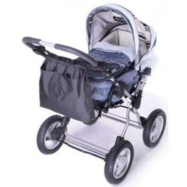 Kinderwagen/Buggy Kinderwagennetz  Einkaufstasche 2 in 1  Einkaufsnetz – Bild 1