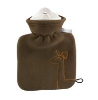 Wärmflasche Teddy Doppel-Fleece von Reer beige oder braun – Bild 2