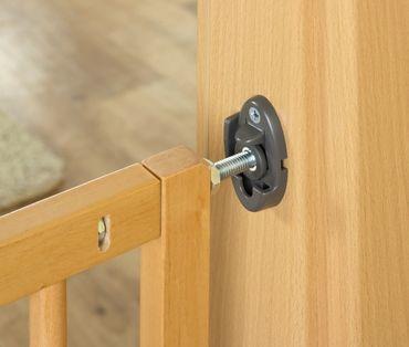 Treppengitter Türgitter Schutzgitter Basic  Simple-Lock in Holz von Reer