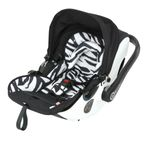 Kiddy Evolution Pro 2  Babyschale in Zebra 001