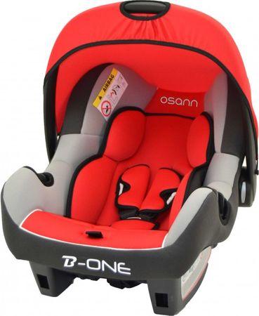 Babyschale Babyautositz OSANN BeOne SP Agora Carmin Gruppe 0+ – Bild 1
