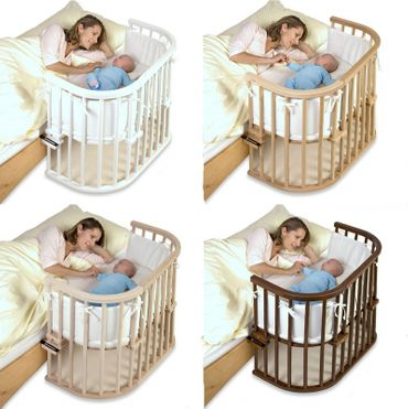 Babybay Original Stillbett Beistellbett Buchenholz  Farbe wählbar – Bild 1