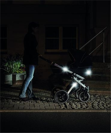 LightReflex Reflektor-Sticker für Kinderwagen, Buggy oder vieles andere