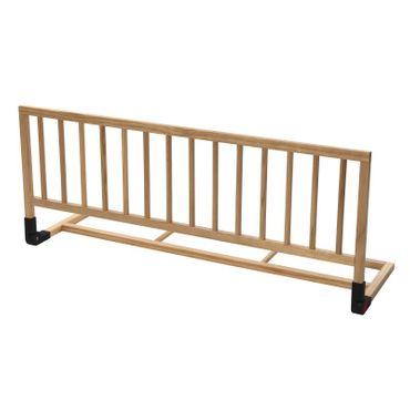 Bettgitter aus Holz ca- 120 cm Natur Femke – Bild 1
