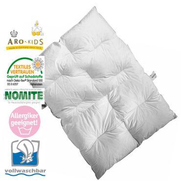 ARO Artländer Junior Daunen-Bett 100x135cm Daunendecke – Bild 1