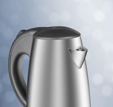 Reer BABY-Edelstahl-Wasserkocher Wasser-Kocher 1000W Pia  – Bild 1