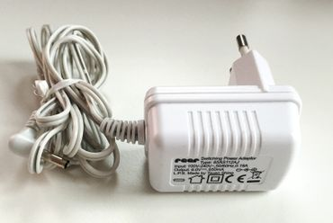 Reer Protection Cube Netzteil für Babyphon u.a. 6V 650mA Hohlstecker